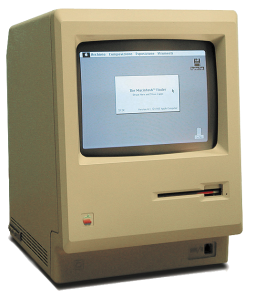 First Macintosh from 1984
